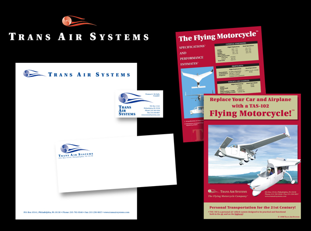 Branding for Trans Air Systems, Philadelphia, PA