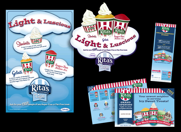 Collateral for Rita's Water Ice, Trevose, PA